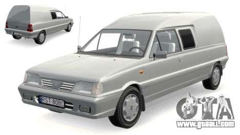 Daewoo-FSO Polonez Bella Armored 2000 for GTA 4