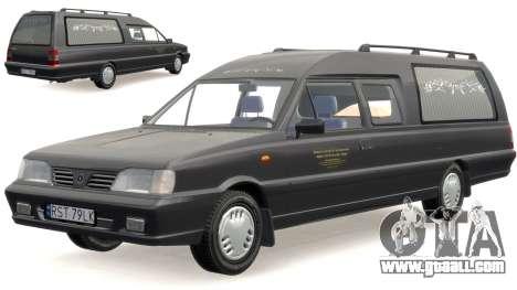 Daewoo-FSO Polonez Bella DC Hearse 1998 for GTA 4