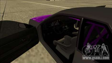 Nissan Skyline R32 Drift for GTA San Andreas inner view