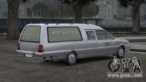 Daewoo-FSO Polonez Bella DC Hearse 1998 for GTA 4 interior