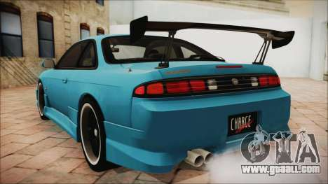 Nissan Silvia S14 Chargespeed Kantai Collection for GTA San Andreas left view