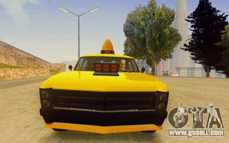 Albany Lurcher Taxi for GTA San Andreas back view
