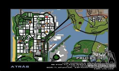 HD Radar Icons for GTA San Andreas third screenshot