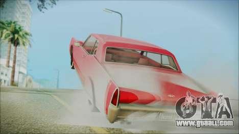 GTA 5 Vapid Chino Bobble Version IVF for GTA San Andreas left view