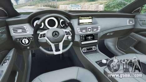 Mercedes-Benz CLS 63 AMG v1.0 for GTA 5