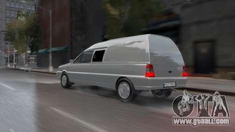 Daewoo-FSO Polonez Bella Armored 2000 for GTA 4 bottom view