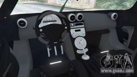 Koenigsegg CCX [Beta] for GTA 5