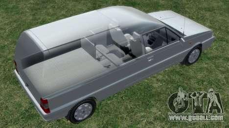 Daewoo-FSO Polonez Bella Armored 2000 for GTA 4 wheels