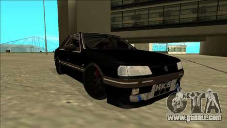 Peugeot 405 Drift for GTA San Andreas right view