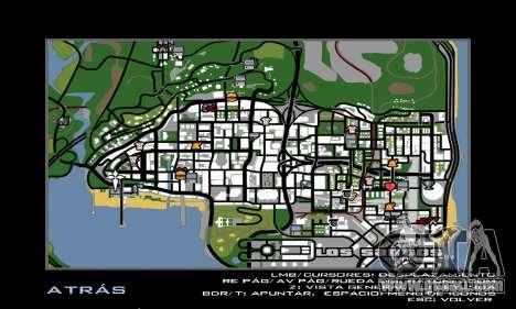 HD Radar Icons for GTA San Andreas second screenshot