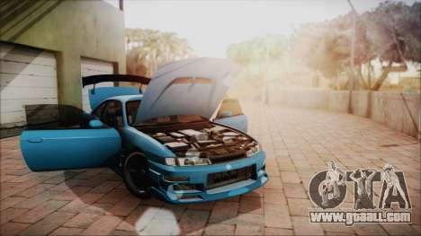 Nissan Silvia S14 Chargespeed Kantai Collection for GTA San Andreas inner view