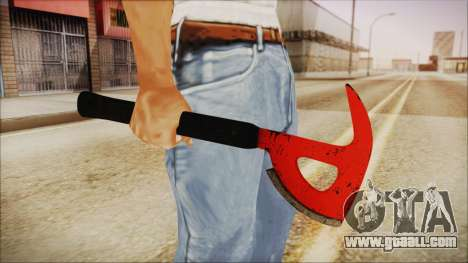 Plane Axe from The Forest for GTA San Andreas third screenshot