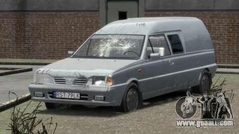 Daewoo-FSO Polonez Bella Armored 2000 for GTA 4 interior