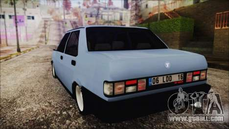Tofas Sahin S for GTA San Andreas left view