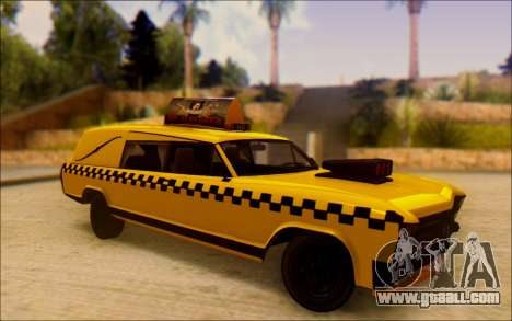 Albany Lurcher Taxi for GTA San Andreas