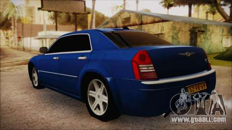 Chrysler 300C for GTA San Andreas left view