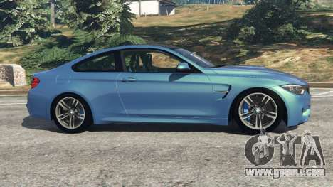 GTA 5 BMW M4 2015 left side view