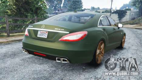 Mercedes-Benz CLS 63 AMG v1.0 for GTA 5