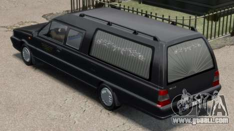 Daewoo-FSO Polonez Bella DC Hearse 1998 for GTA 4 back left view
