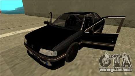 Peugeot 405 Drift for GTA San Andreas back view