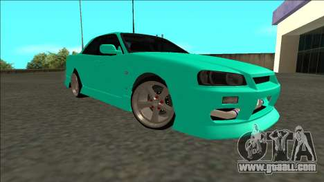 Nissan Skyline ER34 Drift for GTA San Andreas right view