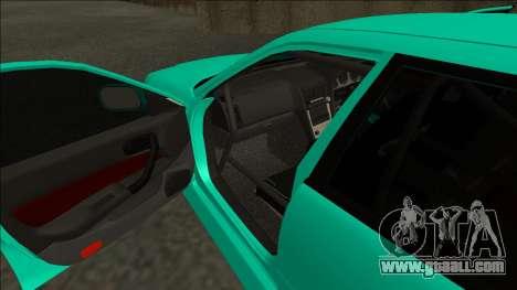 Nissan Skyline ER34 Drift for GTA San Andreas inner view