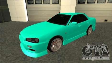 Nissan Skyline ER34 Drift for GTA San Andreas