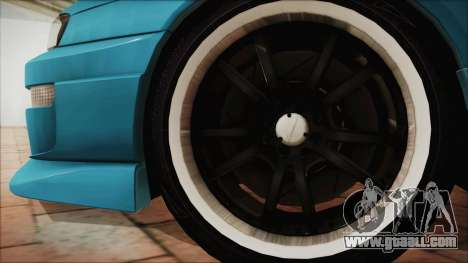 Nissan Silvia S14 Chargespeed Kantai Collection for GTA San Andreas back left view