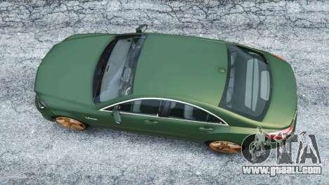 GTA 5 Mercedes-Benz CLS 63 AMG v1.0 back view