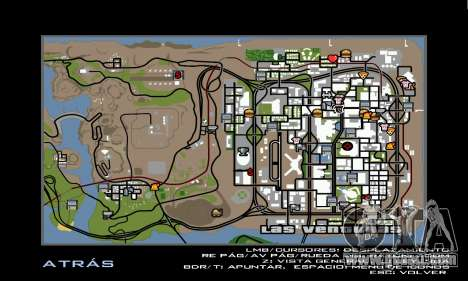 HD Radar Icons for GTA San Andreas forth screenshot