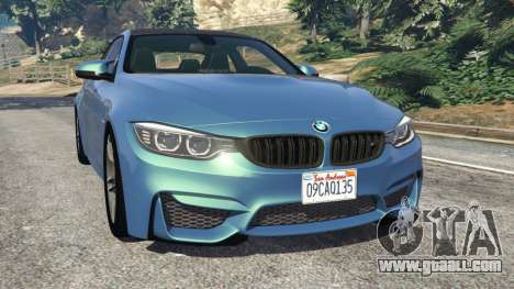 BMW M4 2015 for GTA 5