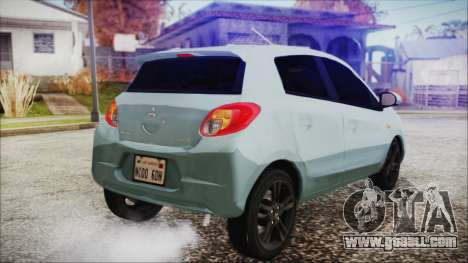 Mitsubishi Mirage GLS for GTA San Andreas left view