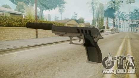 GTA 5 Silenced Pistol for GTA San Andreas second screenshot