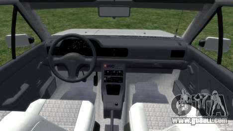 Daewoo-FSO Polonez Bella Armored 2000 for GTA 4 inner view