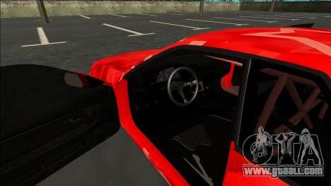 Nissan Skyline R32 Drift Red Star for GTA San Andreas inner view