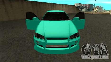 Nissan Skyline ER34 Drift for GTA San Andreas upper view
