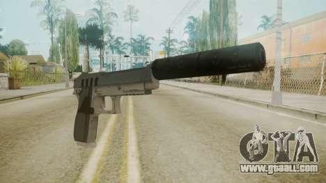 GTA 5 Silenced Pistol for GTA San Andreas