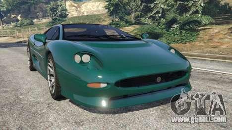 Jaguar XJ220 v0.8 for GTA 5