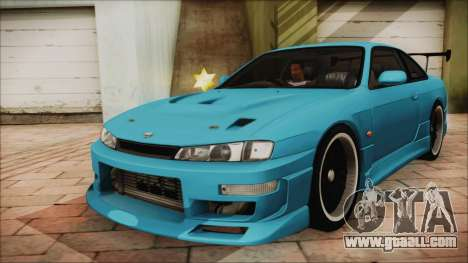 Nissan Silvia S14 Chargespeed Kantai Collection for GTA San Andreas