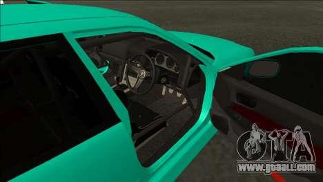 Nissan Skyline ER34 Drift for GTA San Andreas back view