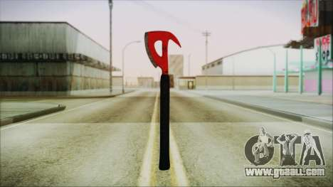 Plane Axe from The Forest for GTA San Andreas