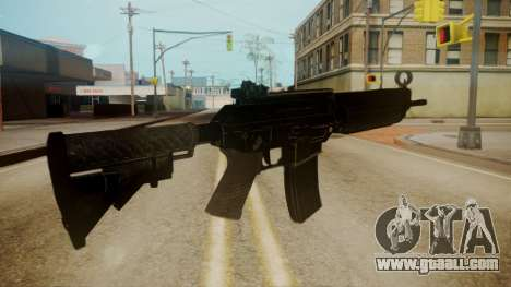 SIG-556 Patrol Rifle for GTA San Andreas third screenshot