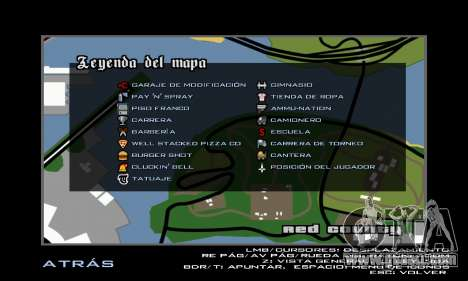 HD Radar Icons for GTA San Andreas