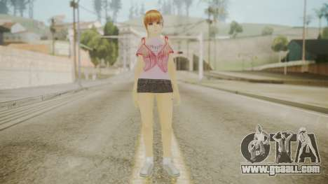Kasumi DoA for GTA San Andreas second screenshot