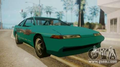 Uranus FnF Skins for GTA San Andreas back left view