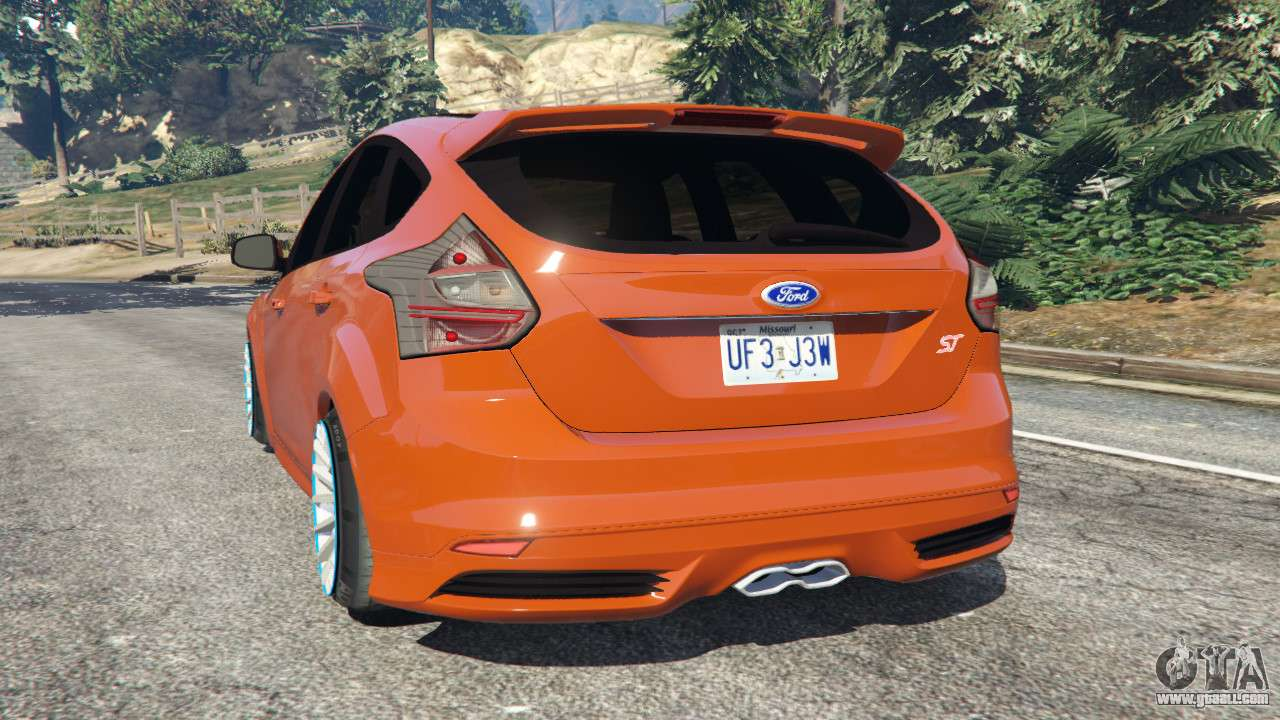 2013 Ford Focus Tires >> Ford Focus ST (C346) 2013 for GTA 5