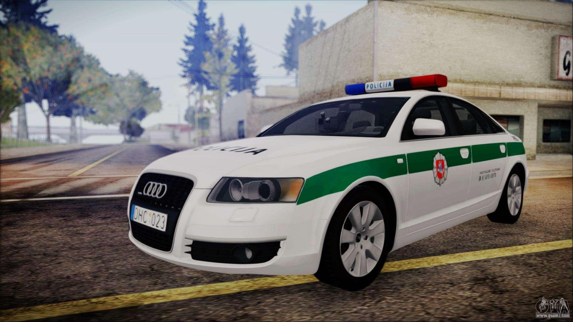 gta sa download police mod