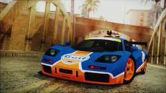 McLaren F1 GTR 1996 Gulf for GTA San Andreas