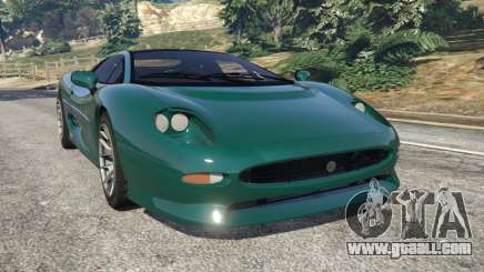 Jaguar XJ220 v0.8 for GTA 5