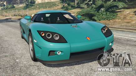 Koenigsegg CCX [Beta] for GTA 5